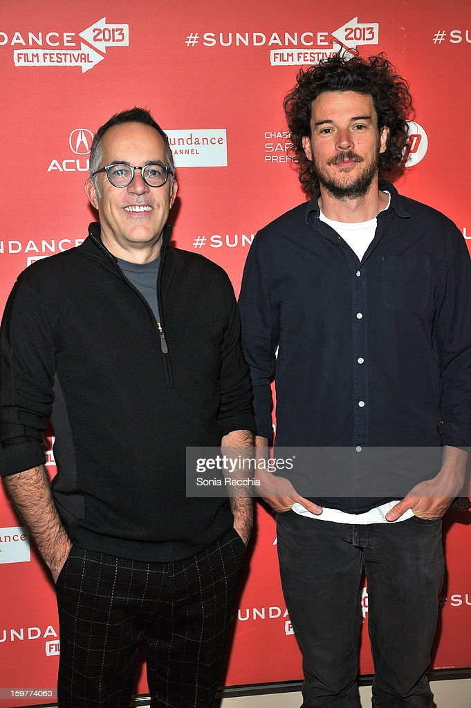 John Cooper and Garth Davis attend the 'Top Of The Lake' premiere at Egyptian Theatre during the 2013 Sundance Film Festival on January 20, 2013 in Park City, Utah.