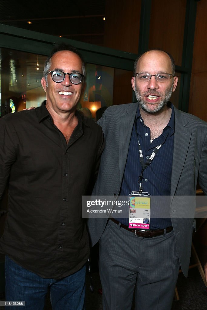 John Cooper and <a gi-track='captionPersonalityLinkClicked' href=/galleries/search?phrase=Ira+Sachs&family=editorial&specificpeople=2260924 ng-click='$event.stopPropagation()'>Ira Sachs</a> at The Sundance Alumni Event At Outfest Festival held at The DGA Theater on July 16, 2012 in Los Angeles, California.