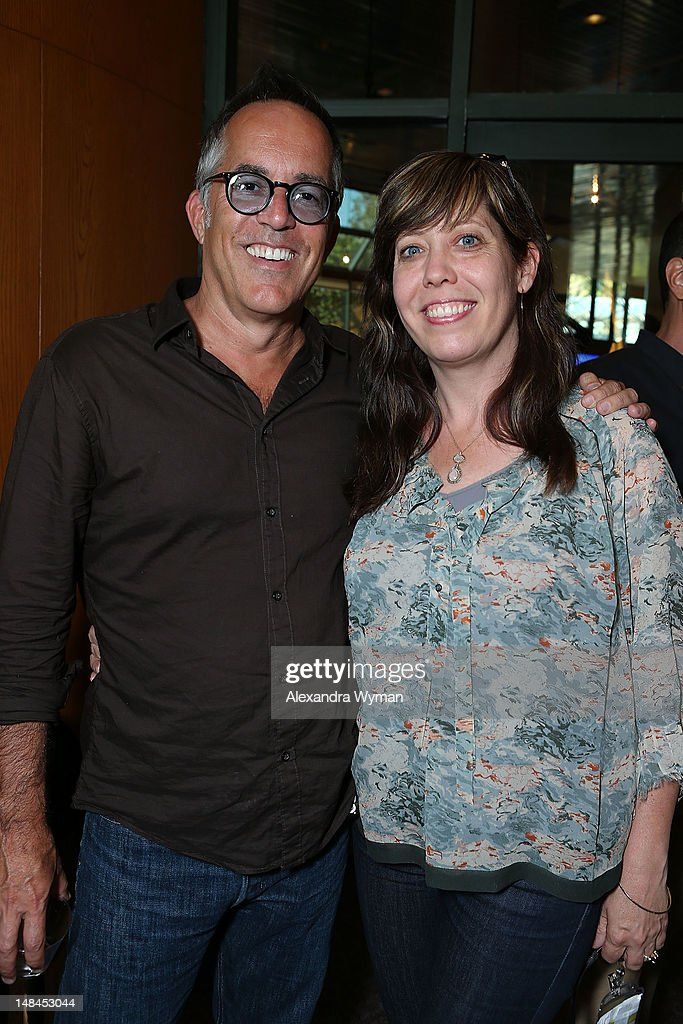 John Cooper and Kirsten Schaffer at The Sundance Alumni Event At Outfest Festival held at The DGA Theater on July 16, 2012 in Los Angeles, California.