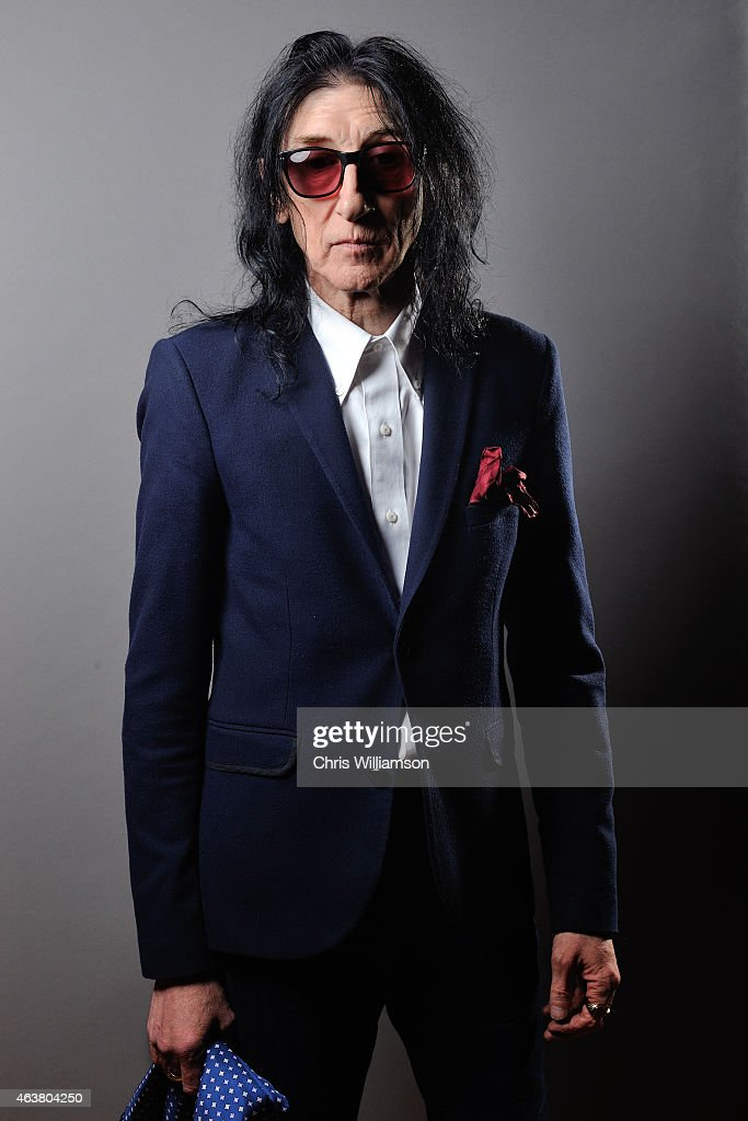 John Cooper Clarke poses for portraits before addressing students at The Cambridge Union on February 18, 2015 in Cambridge, Cambridgeshire.