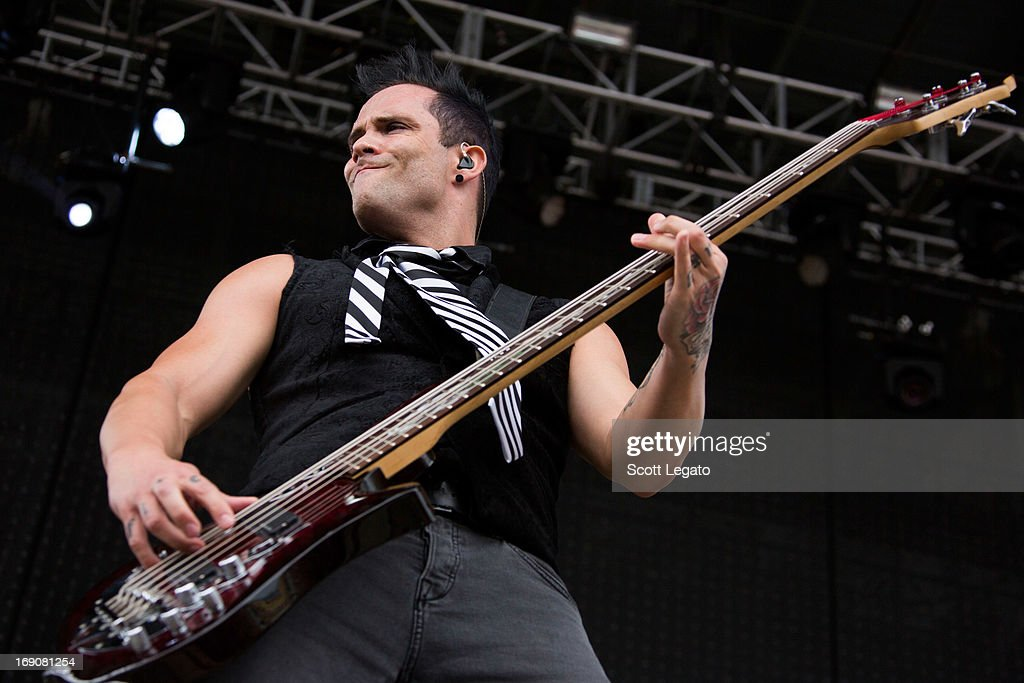 John Cooper of Skillet performs during 2013 Rock On The Range at Columbus Crew Stadium on May 19, 2013 in Columbus, Ohio.