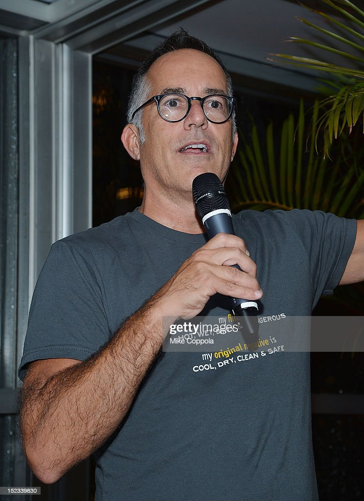 John Cooper speaks at the Sundance Institute Alumni Event At IFP week at the Empire Hotel on September 18, 2012 in New York City.