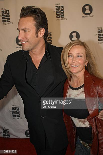 John Corbett and Bo Derek during VH1 Big in 2002 Awards Arrivals at Grand Olympic Auditorium in Los Angeles CA United States