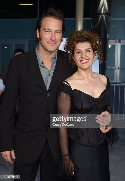 John Corbett and Nia Vardalos during 'My Big Fat Greek Wedding' Hollywood Premiere at ArcLight Theatre in Hollywood California United States