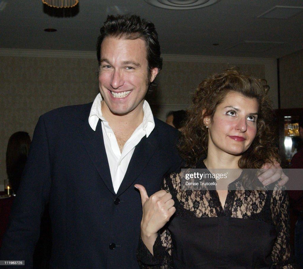 John Corbett Nia Vardalos during 2002 Showest 'My Big Fat Greek Wedding' Screening After Party at Ballys Hotel in Las Vegas Nevada United States