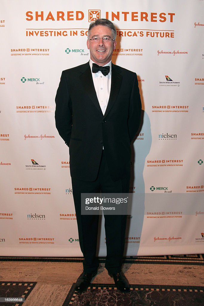 John Coulter attends the Shared Interest 19th Annual Awards Gala on March 18, 2013 in New York City.