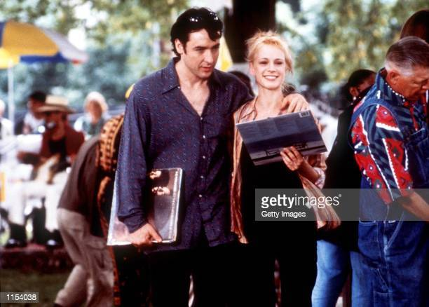 John Cusack and Iben Hjejle in High Fidelity Photo Melissa Moseley/SMPSP Touchstone Pictures