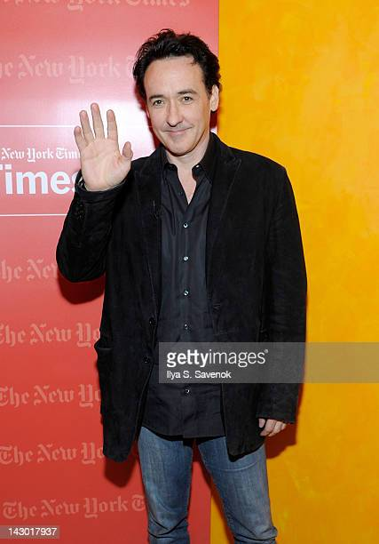 John Cusack attends TimesTalk A Conversation With John Cusack at The Times Center on April 17 2012 in New York City