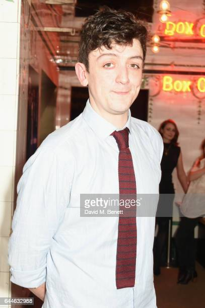 John Dagleish attends the press night after party for 'A Midsummer Night's Dream' at The Young Vic on February 23 2017 in London England