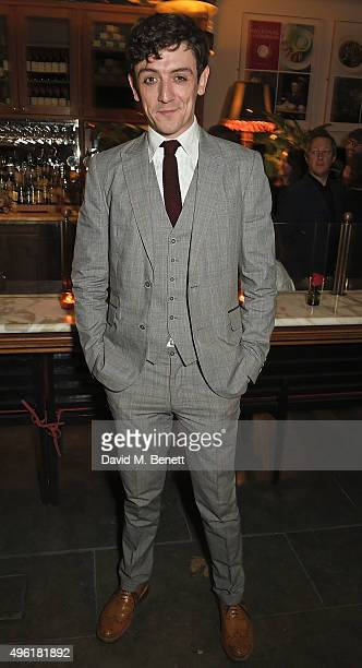 John Dagleish attends the press night after party for 'The Winter's Tale' by the Kenneth Branagh Theatre Company at The National Cafe on November 7...