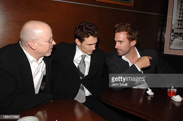John Dahl director James Franco and Joseph Fiennes