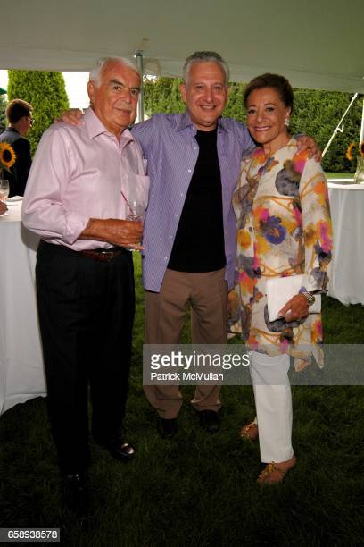 John Daniels Martin Leon and Myra Daniels attend PULSE OF THE CITY GALA Comes To The Hamptons Hosted by the CARDIOVASCULAR RESEARCH FOUNDATION at...