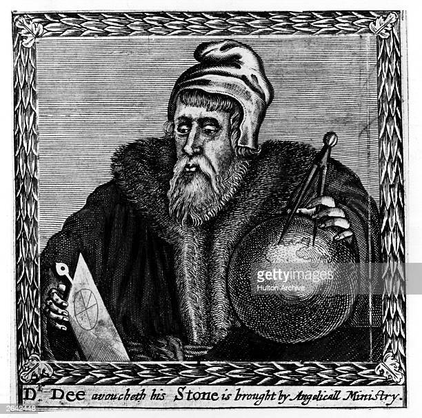 John Dee English astrologer alchemist and mathematician circa 1600