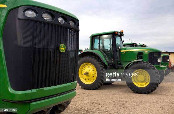 John Deere Tractor Grill : John deere stock photos and pictures getty images