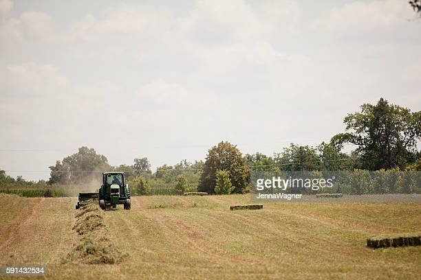 John Deere Hay Harvest