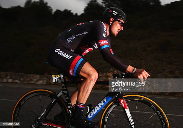 John Degenkolb of Germany and Team GiantAlpecin competes during stage seven the individual time trial of the Paris Nice cycling race between Nice and...