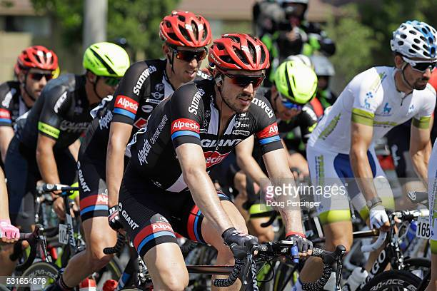 John Degenkolb of Germany riding for Team GiantAlpecin rides in the peloton during stage one of the 2016 Amgen Tour of California on May 15 2016 in...