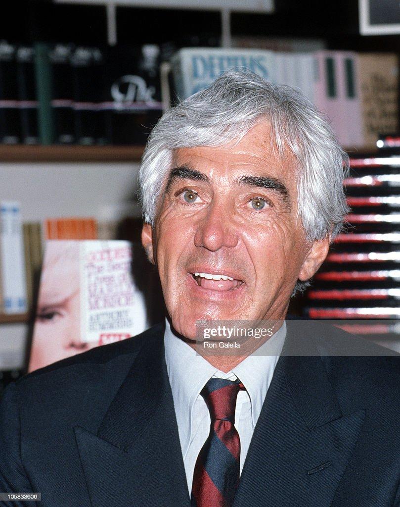 John Delorean Signs Copies Of His Book Quot Delorean Quot Getty