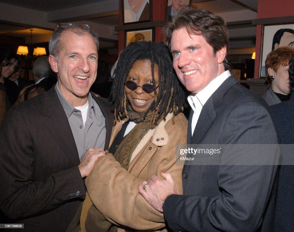 John DeLuca Whoopi Goldberg and director / choreographer Rob Marshall