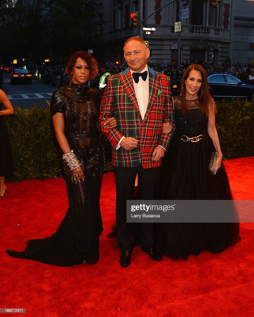 John Demsey and guests attend the Costume Institute Gala for the 'PUNK Chaos to Couture' exhibition at the Metropolitan Museum of Art on May 6 2013...
