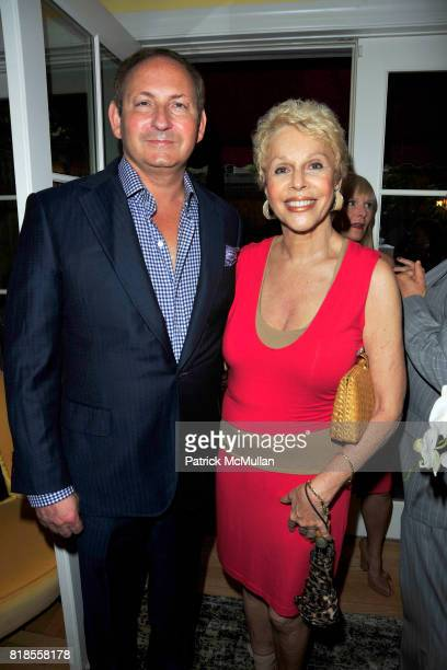 John Demsey and Susan Silver attend Book Party for 'IN FASHION' by ANNEMARIE IVERSON Hosted by JOHN DEMSEY at Private Residence on August 11 2010 in...