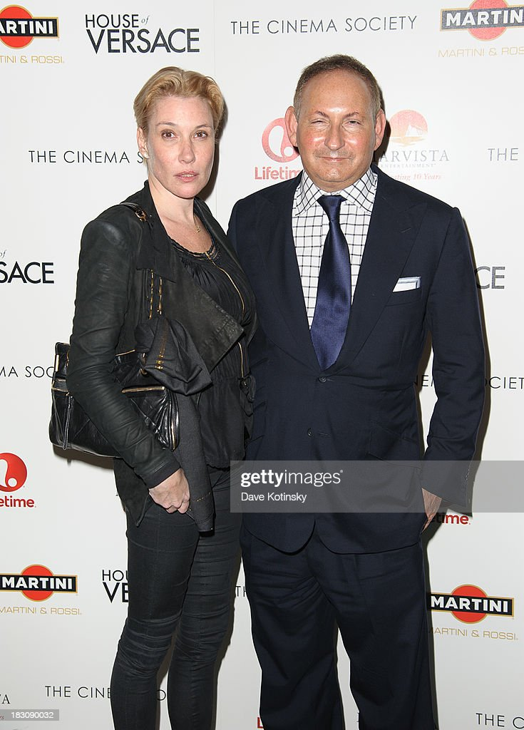 John Demsey(R) attends Marvista Entertainment And Lifetime With The Cinema Society Host A Screening Of 'House Of Versace' at MOMA on October 3, 2013 in New York City.