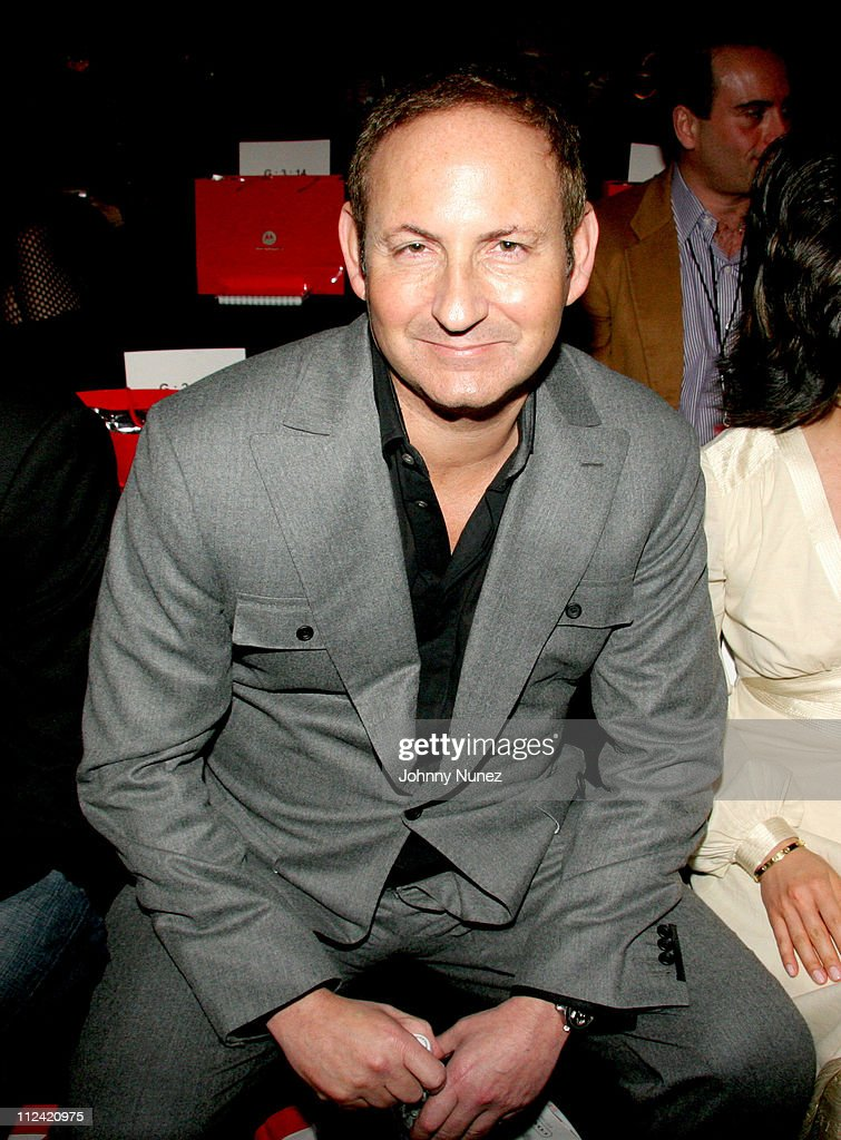 John Demsey during Olympus Fashion Week Fall 2006 Baby Phat Front Row and Backstage at Bryant Park in New York City New York United States