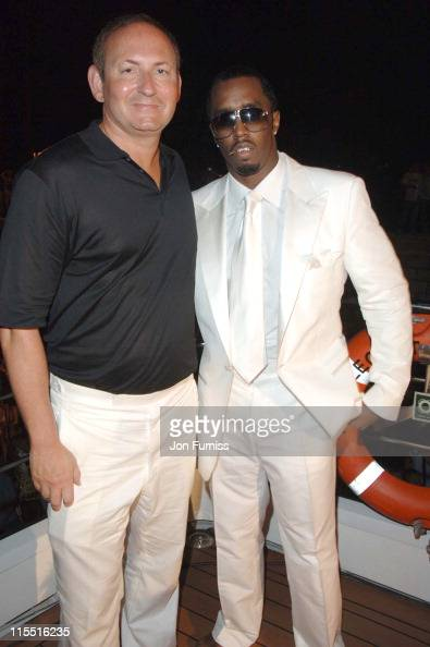 John Demsey group president Estee Lauder Cosmetics and Sean 'P Diddy' Combs