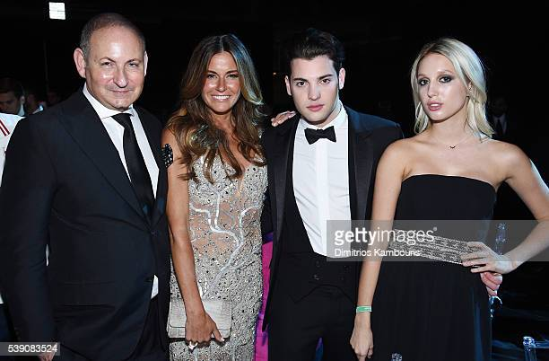 John Demsey Kelly Bensimon Peter Brant Jr Princess Olympia of Greece attend the 7th Annual amfAR Inspiration Gala at Skylight at Moynihan Station on...