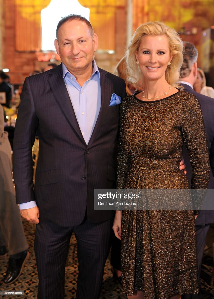 John Demsey snd Sandra Lee attend Variety Power Of Women New York presented by FYI at Cipriani 42nd Street on April 25 2014 in New York City