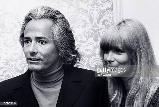 John Derek and Linda Evans during Sonny and Cher Opening at Century Plaza April 4 1970 at Century Plaza in Los Angeles California United States