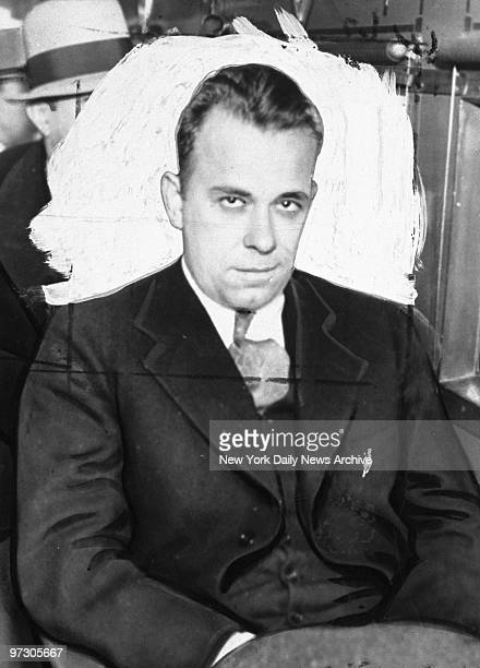 John Dillinger desperado Public Enemy No 1 as he looked while being taken from Tucson Arizona to Crown Point Indiana where he later escaped