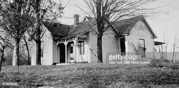 John Dillinger home near Mooresville Indiana