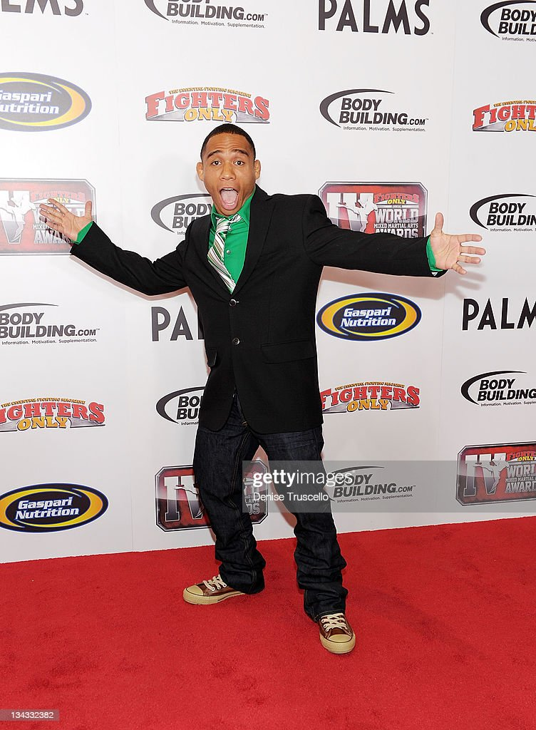 Fighters Only World Mixed Martial Arts Awards 2011 At The Palms Casino Resort - Red Carpet