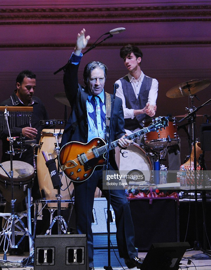 John Doe of X attends The Music of Paul Simon at Carnegie Hall on March 31, 2014 in New York City.