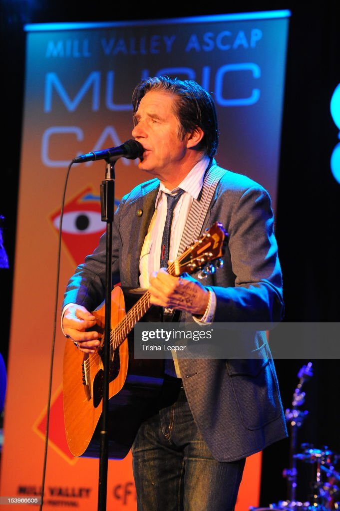 John Doe performs at the Mill Valley ASCAP Music cafe at Sweetwater Music Hall on October 11, 2012 in Mill Valley, California.