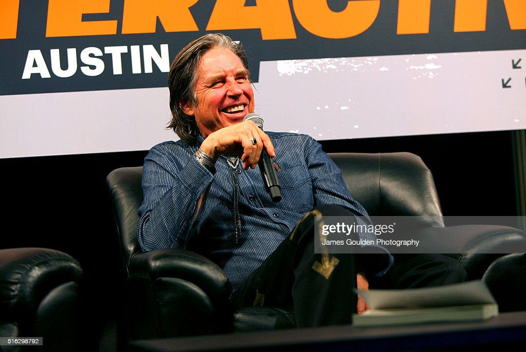 John Doe speaks onstage at 'Under the Big Black Sun: A Conversation with John Doe and Mike Watt' during the 2016 SXSW Music, Film + Interactive Festival at Austin Convention Center on March 17, 2016 in Austin, Texas.
