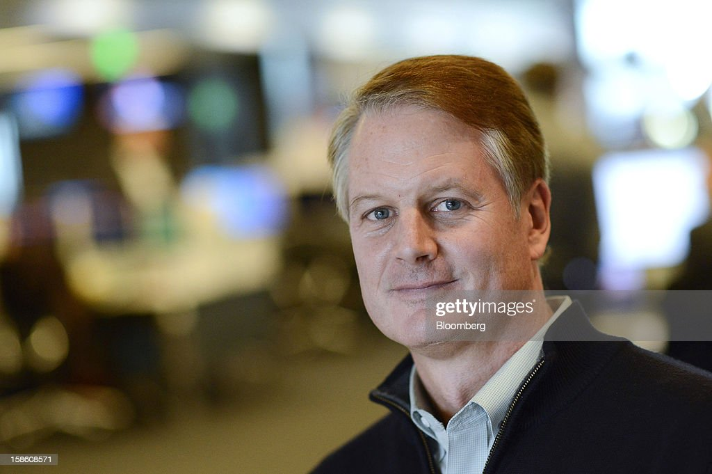 John Donahoe, chief executive officer of EBay Inc., stands for a photograph after a Bloomberg Television interview in San Francisco, California, U.S., on Thursday, Dec. 20, 2012. EBay Inc., owner of the world's largest Internet marketplace, is teaming up with Macy's Inc. and Toys 'R' Us Inc. as it goes after revenue from shoppers who are out and about, not just online, during the holidays. Photographer: David Paul Morris/Bloomberg via Getty Images