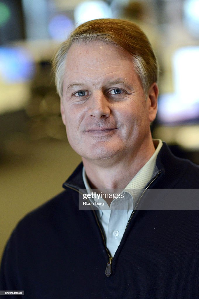 John Donahoe, chief executive officer of EBay Inc., stands for a photograph after a Bloomberg Television interview in San Francisco, California, U.S., on Thursday, Dec. 20, 2012. EBay Inc., owner of the worldis largest Internet marketplace, is teaming up with Macyis Inc. and Toys eRi Us Inc. as it goes after revenue from shoppers who are out and about, not just online, during the holidays. Photographer: David Paul Morris/Bloomberg via Getty Images