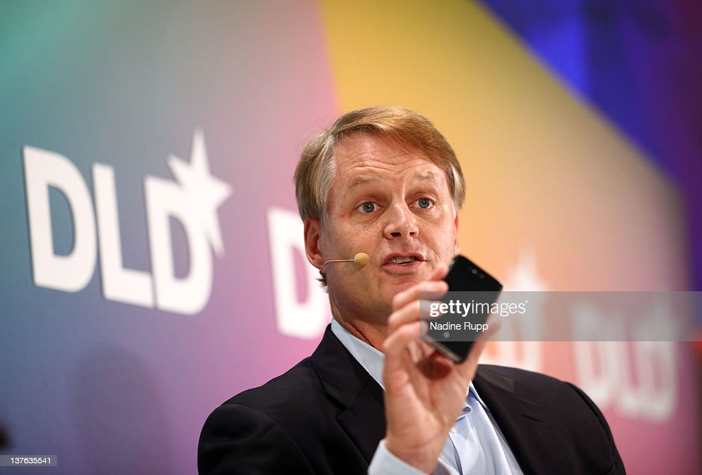 John Donahoe, President and CEO of eBay Inc., speaks during the Digital Life Design conference (DLD) at HVB Forum on January 24, 2012 in Munich, Germany. ence and culture which connects business, creative and social leaders, opinion-formers and investors for crossover conversation and inspiration.
