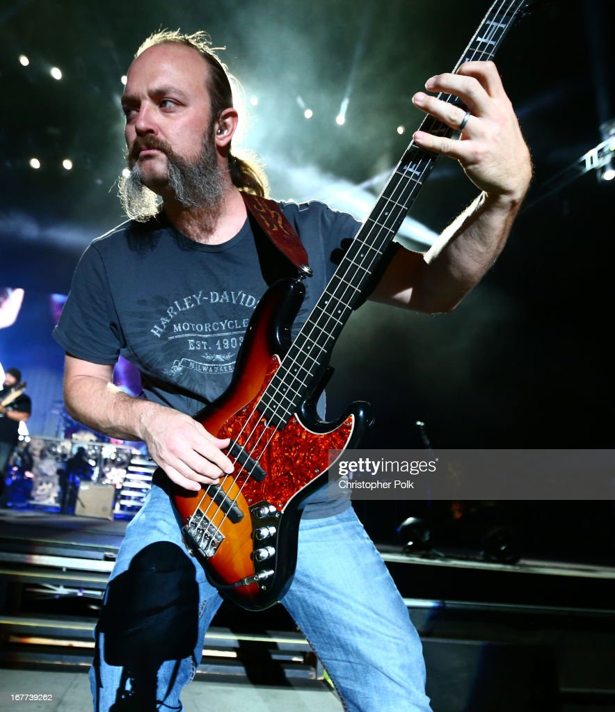 John Driskell Hopkins of the Zac Brown Band performs onstage during 2013 Stagecoach: California's Country Music Festival held at The Empire Polo Club on April 28, 2013 in Indio, California.