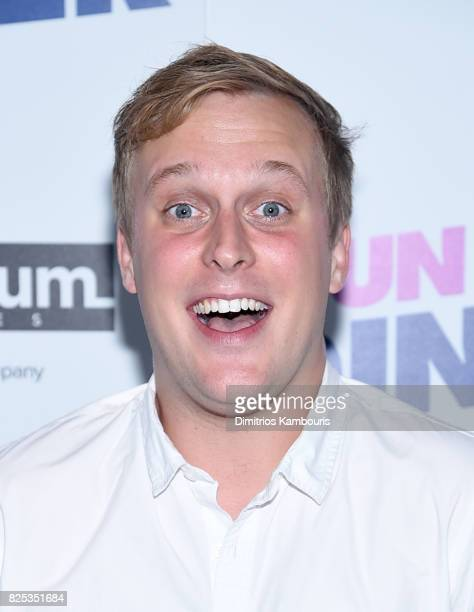John Early attends the screening Of 'Fun Mom Dinner' at Landmark Sunshine Cinema on August 1 2017 in New York City