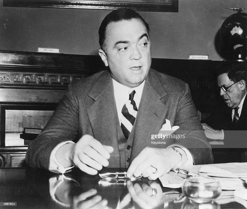 John Edgar Hoover (1895-1972), American criminologist and government official.