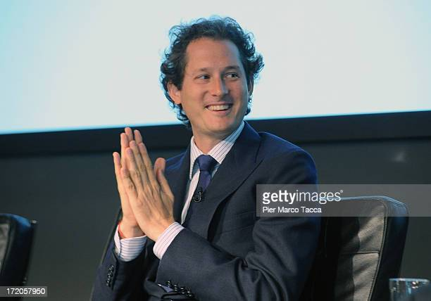 John Elkann attends a press conference of Transpac 2013 with Maserati and Zegna Sport partnerhip on July 1 2013 in Milan Italy