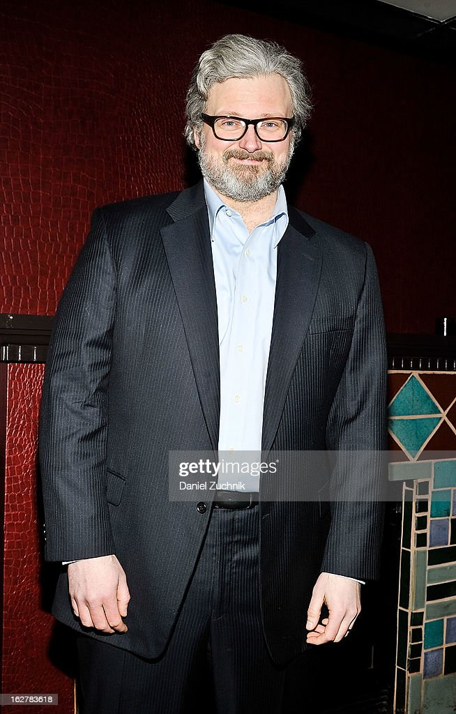 John Ellison Conlee attends 'The Madrid' opening night party at Red Eye Grill on February 26, 2013 in New York City.