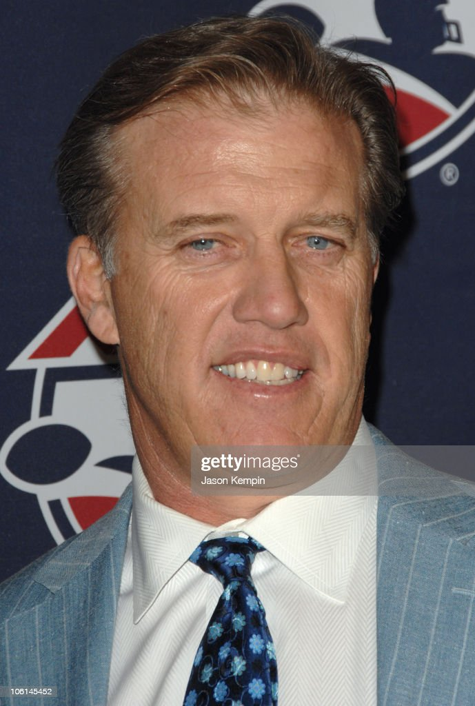John Elway during ALF Season Kick Off Event At ESPN Zone February 26 2007 at ESPN Zone in New York City New York United States