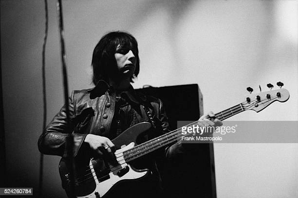 John Entwistle with The Who performing at the Fillmore East