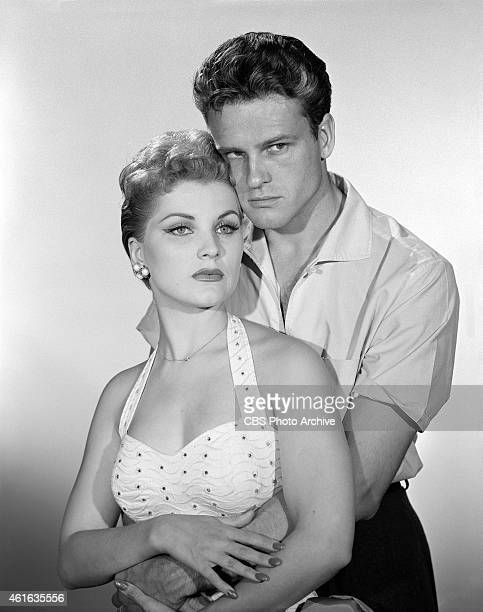 John Ericson as William Herrick and Debra Paget as Maria in the CLIMAX production of 'The Man Who Lost His Head' Image dated July 13 1956
