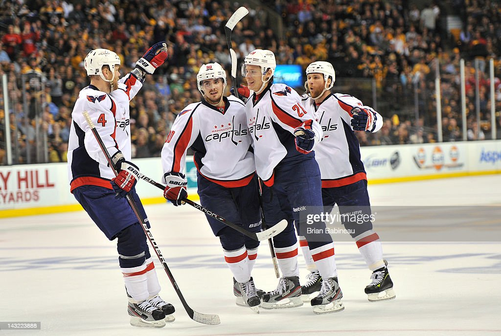Washington Capitals v Boston Bruins - Game Five