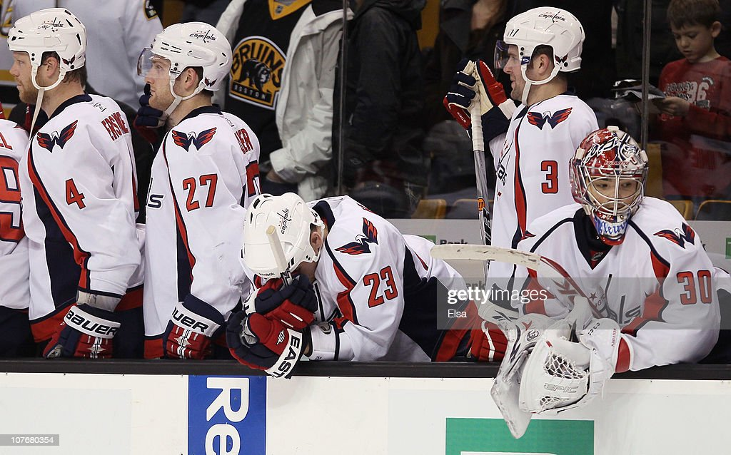 Washington Capitals v Boston Bruins